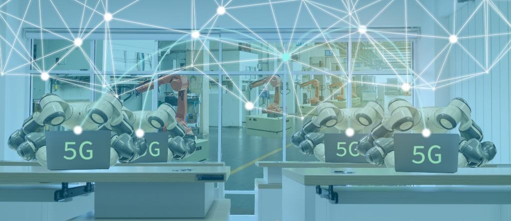 Robots con 5G